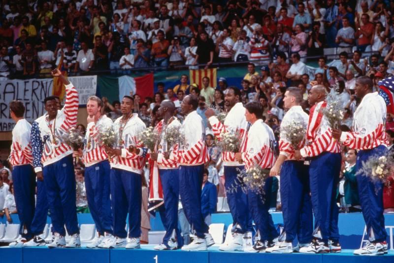 Кроссовки Джордана, Пиппена и Джонсона с Олимпиады 1992 года были проданы на аукционе за $246 800,40