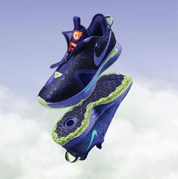 Первый взгляд на коллаборацию Gatorade x Nike PG 4