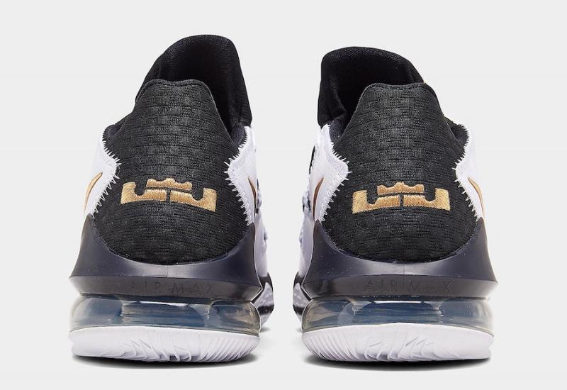 Новая впечатляющая расцветка Nike LeBron 17 Low 'Metallic Gold'