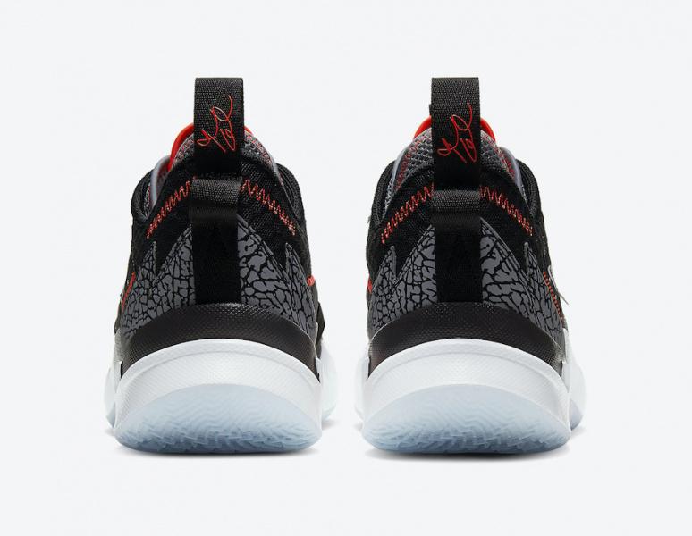 Официальные фото Jordan Why Not Zer0.3 'Black Cement'