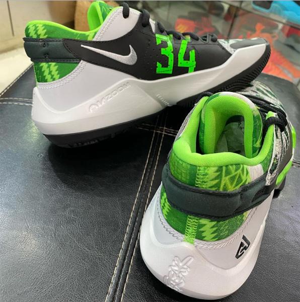 Новые детальные фото Nike Zoom Freak 2