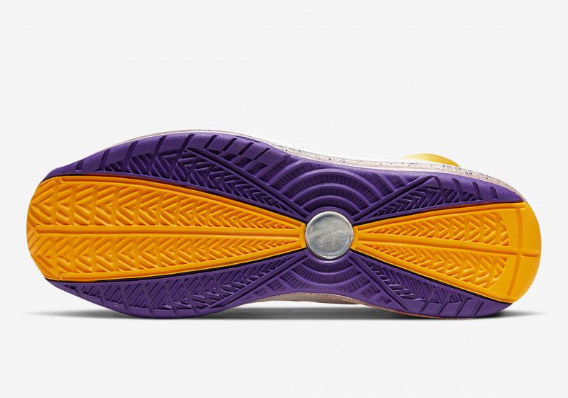"""Официальные фото Nike LeBron 7 """"Media Day"""" в цветах «Лос-Анджелес Лейкерс»"""