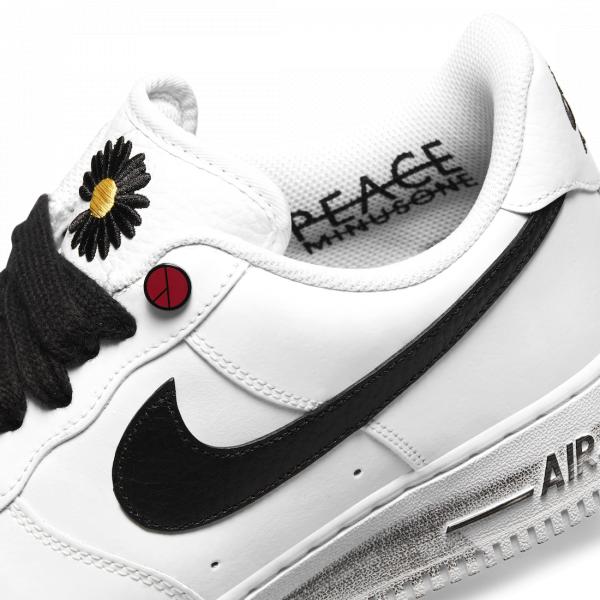 Крутейшая коллаборация PEACEMINUSONE x Nike Air Force 1 «Para-Noise 2.0»
