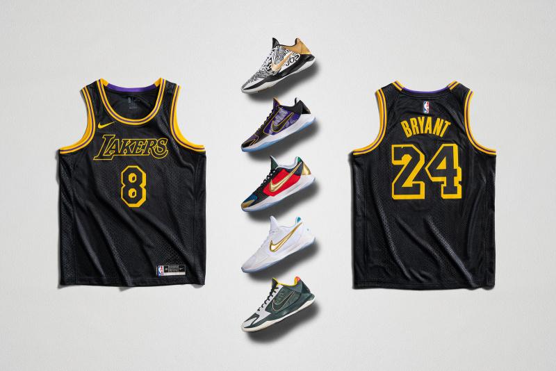 Nike проведет неделю «Mamba Week» в честь легендарного игрока НБА Кобе Брайанта