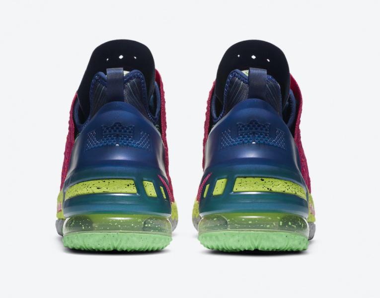 Nike LeBron 18 «Los Angeles By Night»
