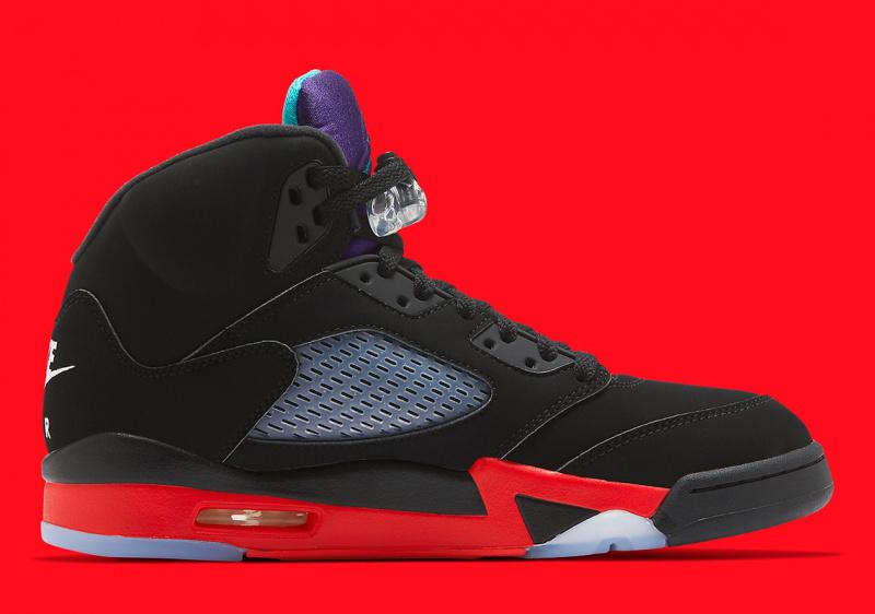 """Официальные фото Air Jordan 5 """"Top 3"""", сочетающей в себе несколько расцветок"""