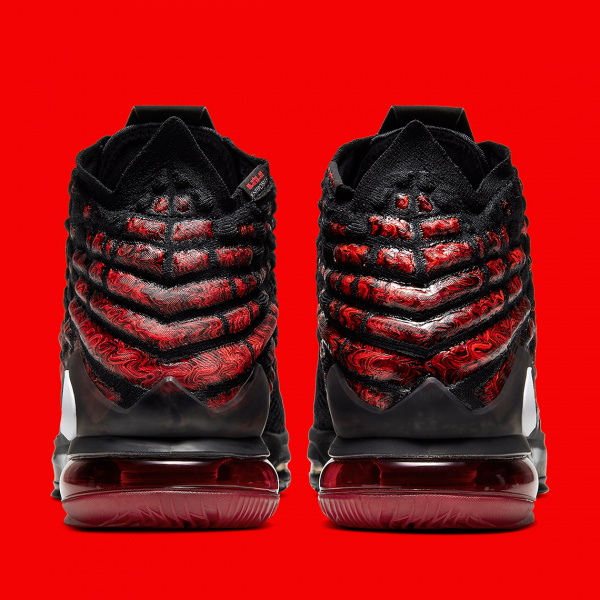 "Nike LeBron 17 ""Infrared"" — свежий взгляд на прошлое"