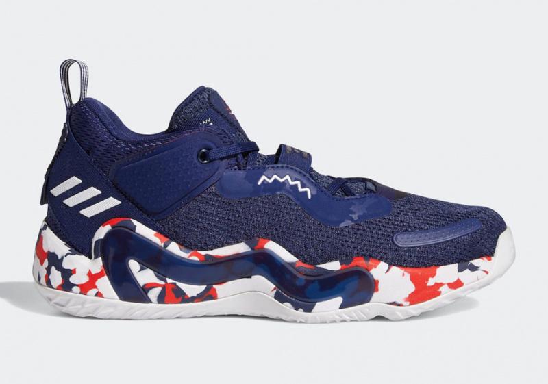 adidas DON Issue 3 «USA» будут выпущены в честь Олимпиады в Токио