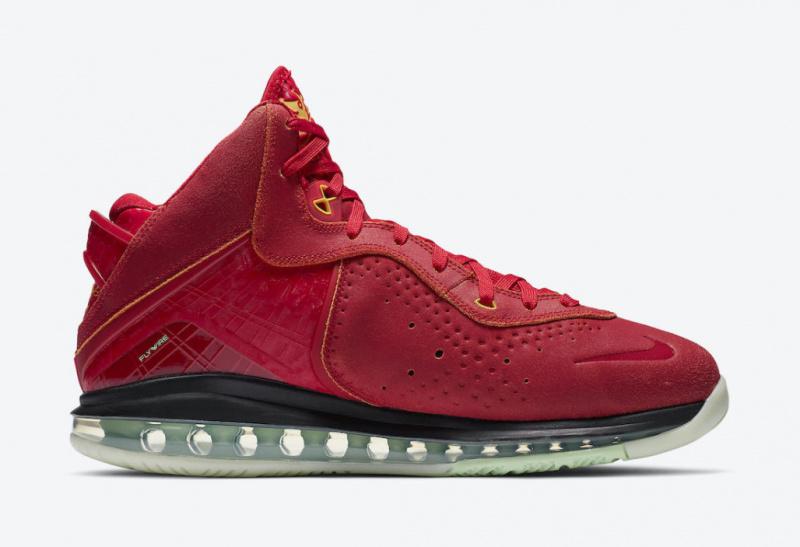 Nike LeBron 8 «Gym Red» станут частью линейки «Beijing Pack»