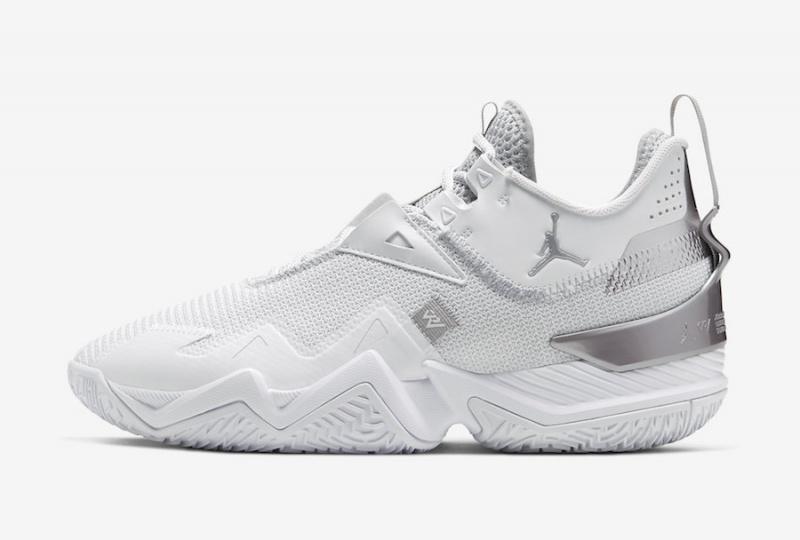 Новая расцветка Jordan Westbrook One Take будет выпущена в белом и серебренном цвете