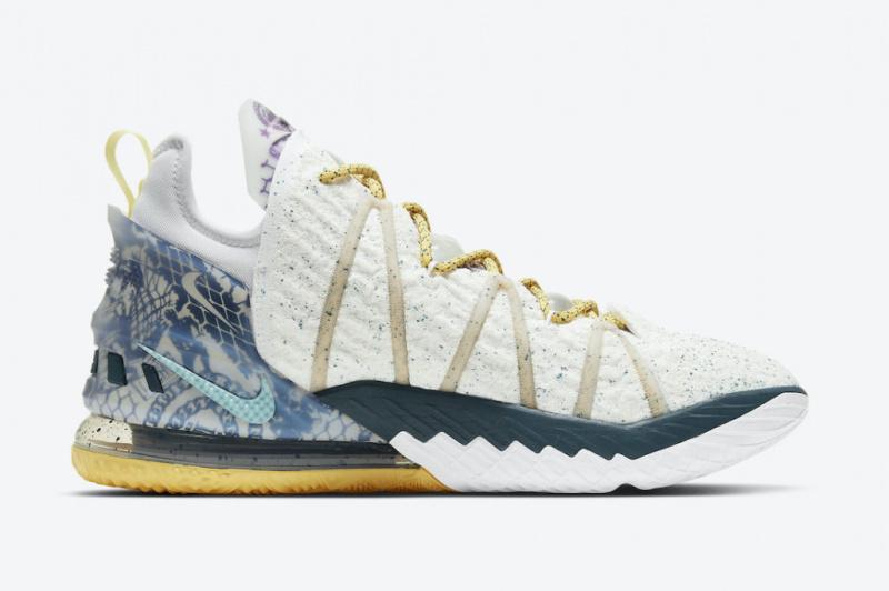 Nike LeBron 18 «Reflections Flip» созданы в честь чемпионства ЛеБрона Джеймса в 2020 году
