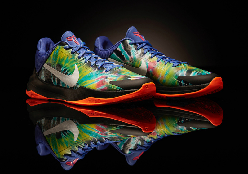 Некоторые игроки НБА тренируются в Nike Kobe 5 Protro