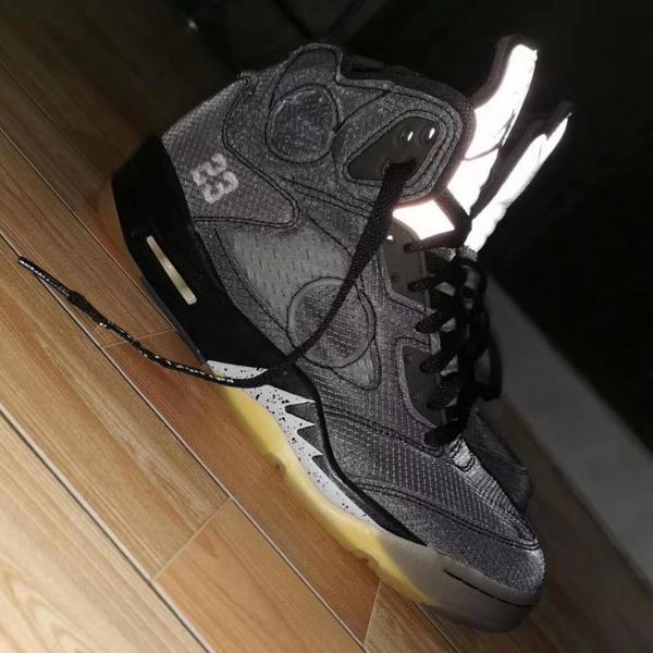 Первый взгляд на Off-White x Air Jordan 5