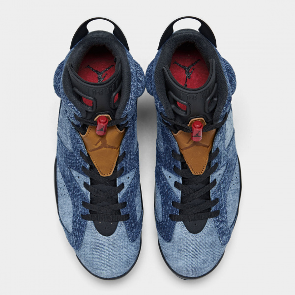 "Air Jordan 6 ""Washed Denim"" — джинсовая ретроверсия легенды"