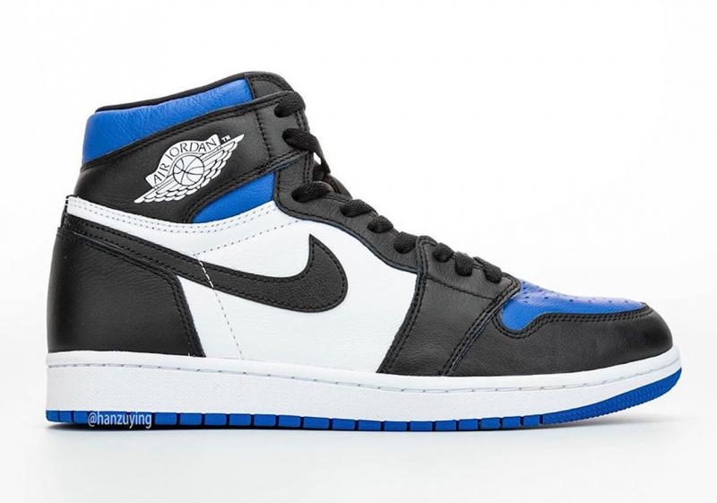 """Первый взгляд на Air Jordan 1 Retro High OG """"Game Royal"""""""