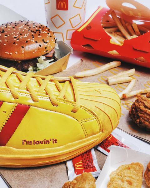 Детали коллаборации McDonald's All-American Game x adidas Pro Model 2G