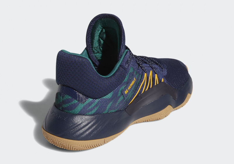Новая расцветка adidas DON Issue #1 будет посвящена темных цветам команды «Юты Джаз»