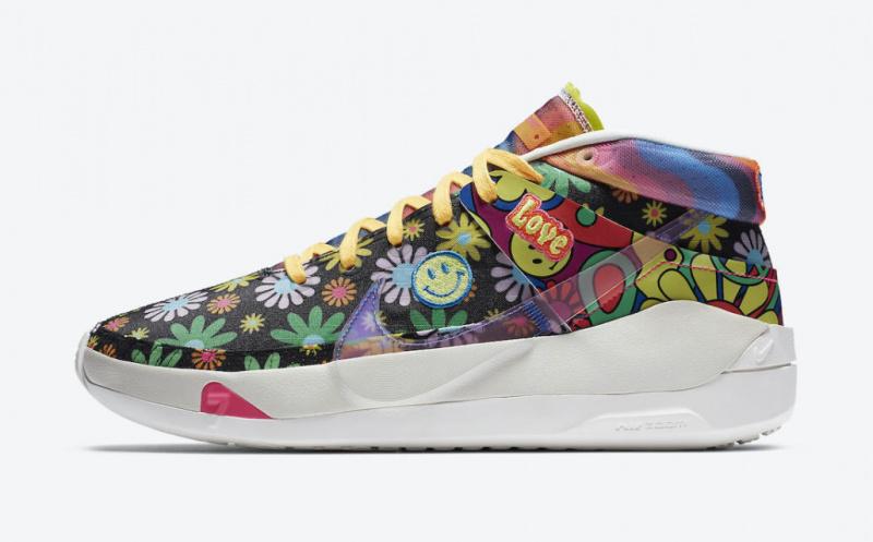 Официальные фото новой расцветки баскетбольных кроссовок Кевина Дюрэнта Nike KD 13 «Easy Money Sniper»