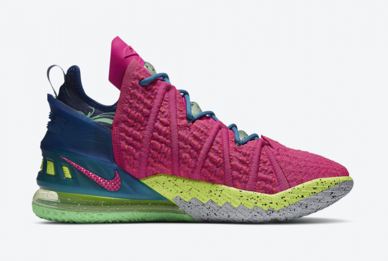 Nike LeBron 18 «Los Angeles By Night»