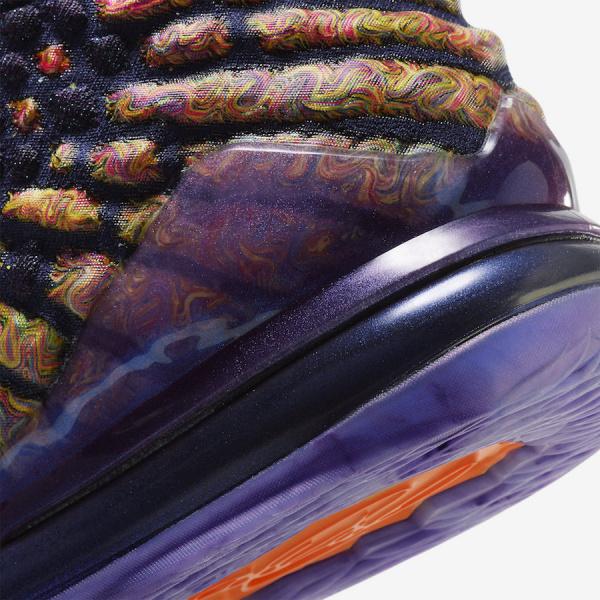 Официальные фото Nike LeBron 17 'Monstars'