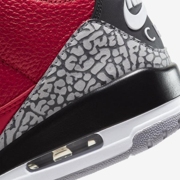 Air Jordan 3 Chicago Exclusive 'Red Cement' появятся во время Звездного Уикенда НБА 2020 года