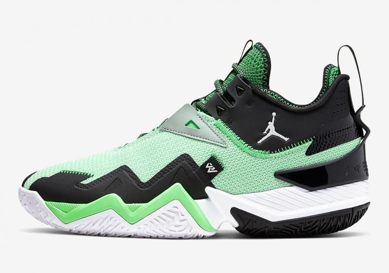Jordan Westbrook One Take Volt в свежем зеленоватом оттенке