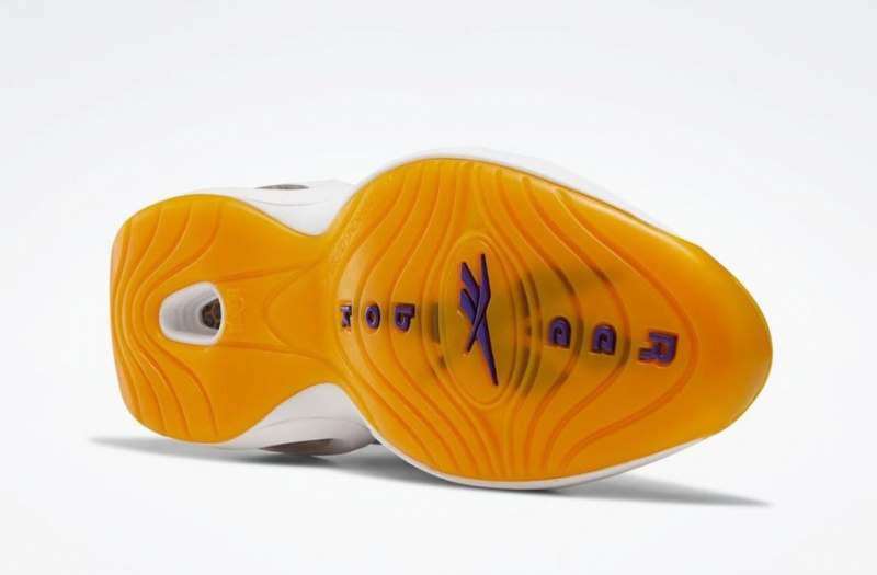 Подробности новой расцветки кроссовок Аллена Айверсона Reebok Question Mid «Yellow Toe»