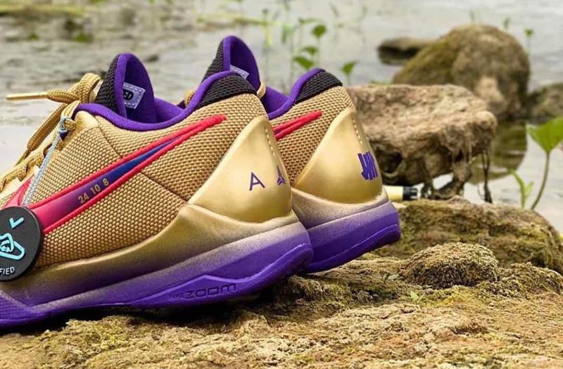 Детальный взгляд на пак Undefeated x Nike Kobe 5 Protro «What If»