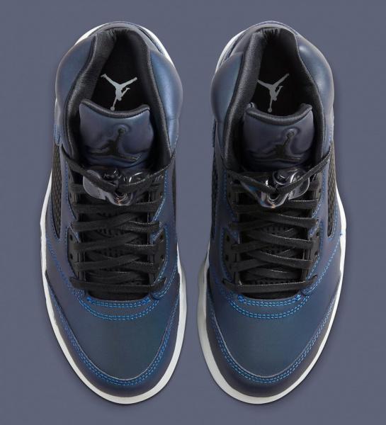 """Женские Air Jordan 5 """"Oil Grey"""" будут светиться в темноте!"""
