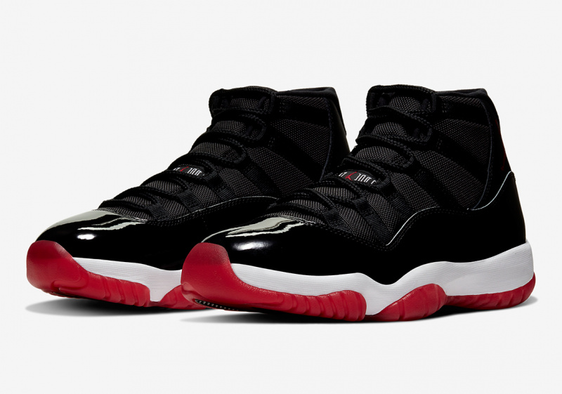 Jordan Brand сделает переиздание Air Jordan 11 «Bred»