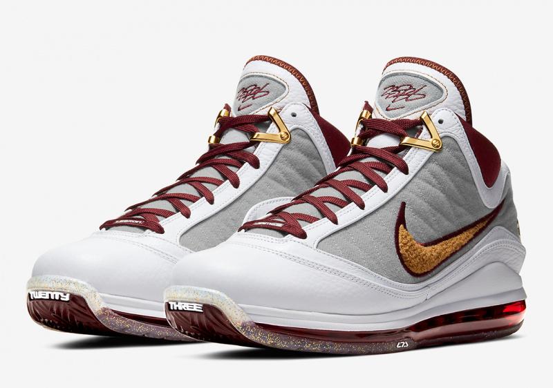 Nike LeBron 7 «MVP» будут выпущены в размерной сетке для всей семьи