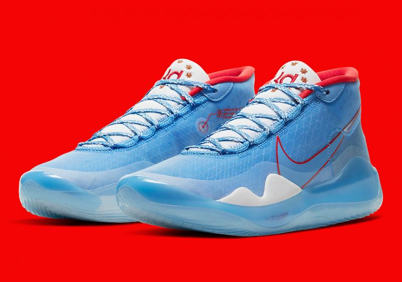 Nike KD 12 «All-Star» — расцветка кроссовок Кевина Дюрэнта в честь Матча звезд 2020 года
