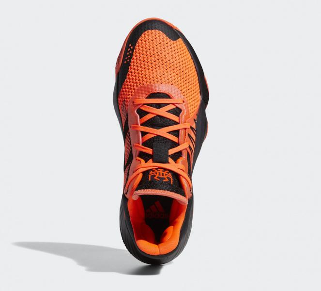 adidas DON Issue 1 'Solar Red' в солнечно-красном цвете