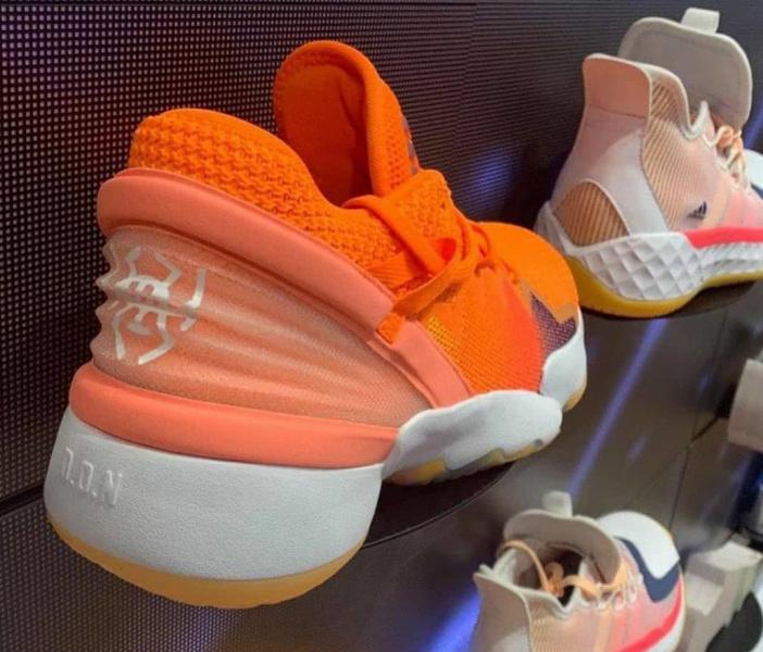 Первый взгляд на adidas D.O.N. Issue #2