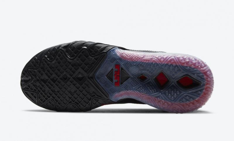 Nike LeBron 18 Low выйдут в классической расцветке «Bred»