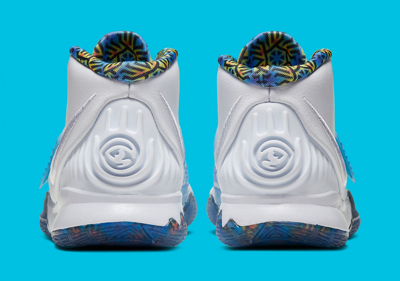 Новая расцветка Nike Kyrie 6 с калейдоскопическим рисунком