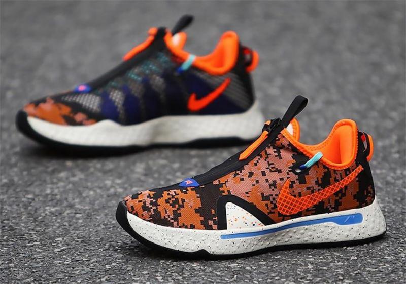 """Nike PG 4 """"Digi-Camo"""" в камуфляжной тематике"""