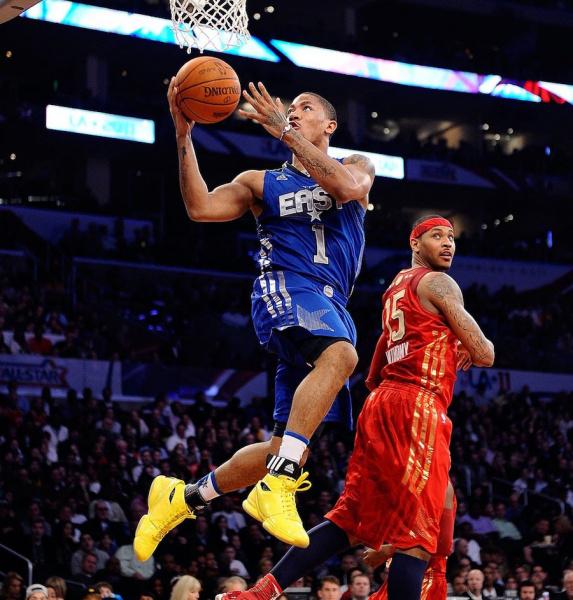 adidas D Rose 1 'Simeon' снова появятся во время Звездного Уикенда НБА