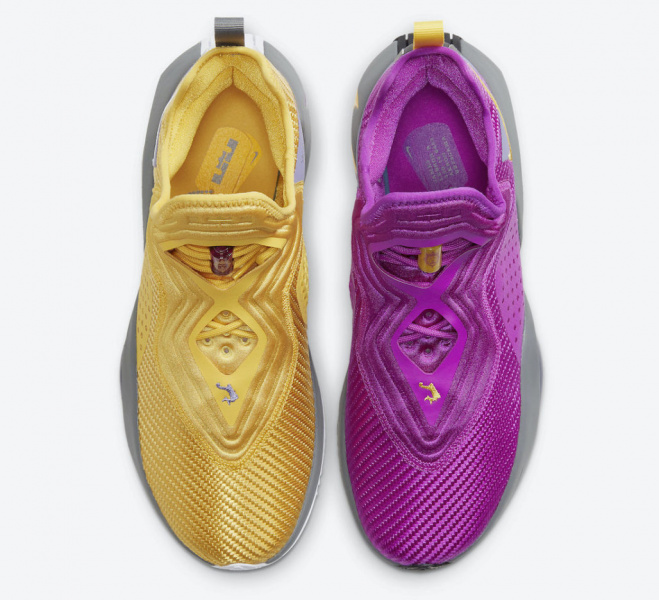Nike LeBron Soldier 14 получат цвета клуба НБА «Лос-Анджелес Лейкерс»