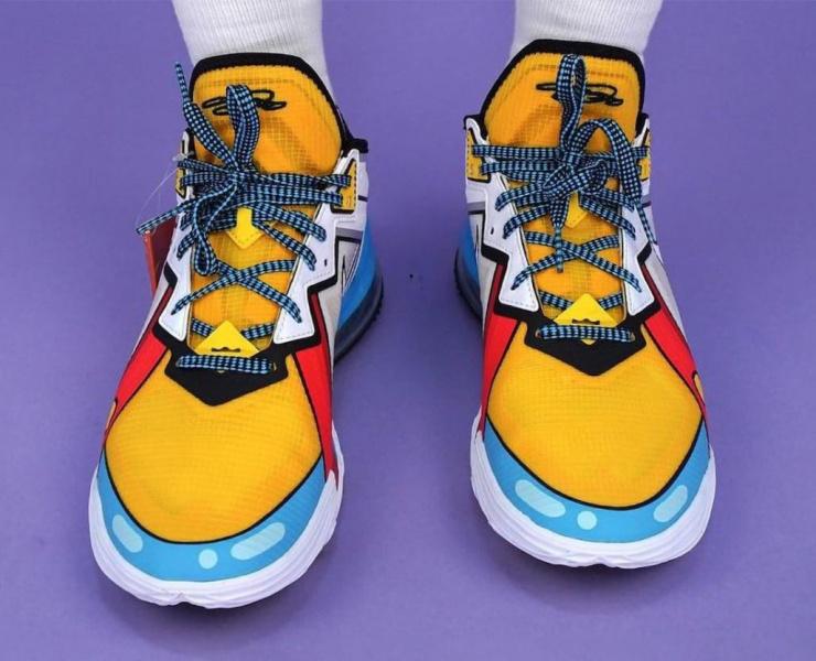 Nike LeBron 18 Low «Stewie Griffin» будут созданы в честь знаменитого малыша из «Гриффинов»