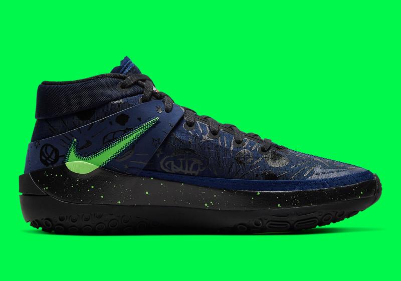 """Новая расцветка Nike KD 13 """"Planet Of Hoops"""" будет выполнена в космической тематике"""
