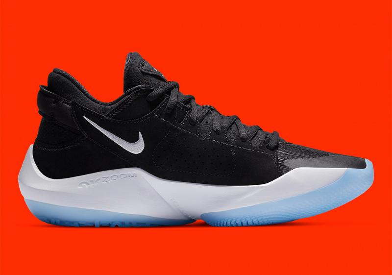 Официальные фото Nike Zoom Freak 2 «Black/White»