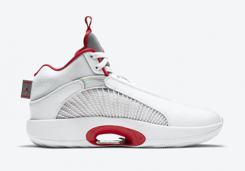 В продаже появились Air Jordan 35 «Fire Red»