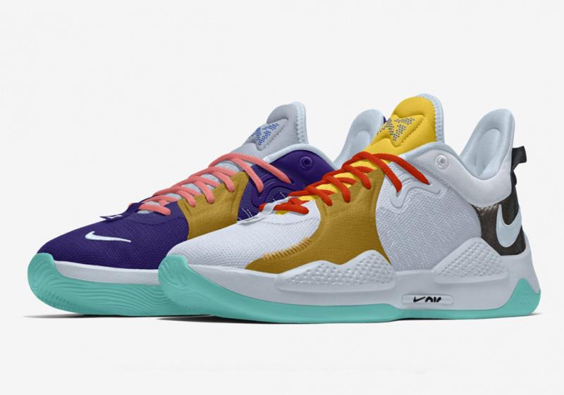 Nike PG 5 можно будет кастомизировать на Nike By You