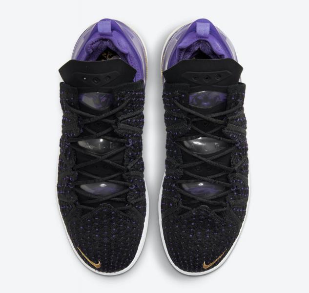 Nike LeBron 18 предстанут в расцветке клуба НБА «Лос-Анджелес Лейкерс»