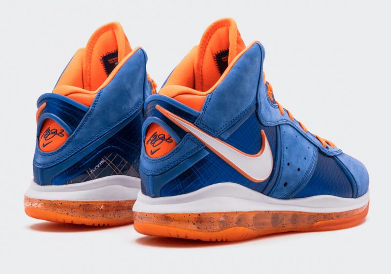 Первый взгляд на Nike LeBron 8 HWC, выполненных в стилистике «Кливленд Кавальерс»