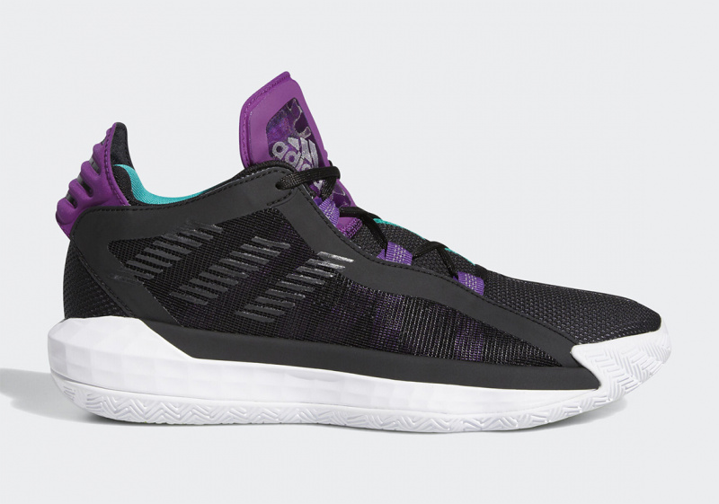 К adidas Dame 6 добавится фиолетовый и бирюзовый акцент
