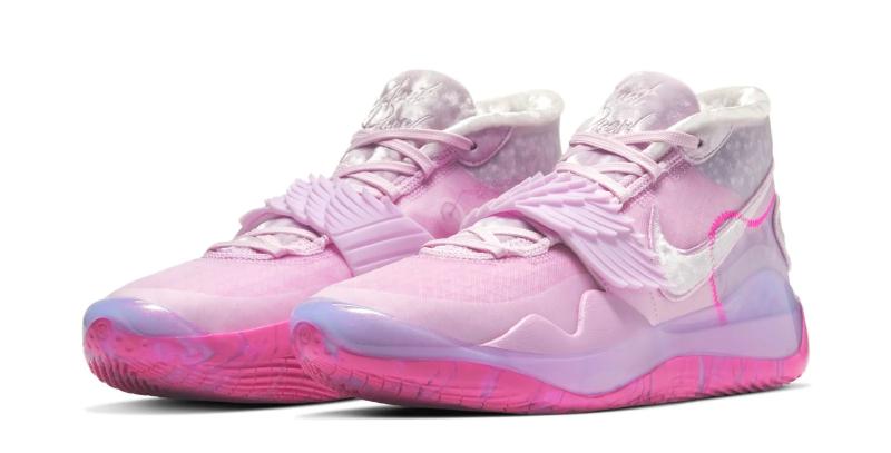 """Первый взгляд на Nike KD 12 """"Aunt Pearl"""""""