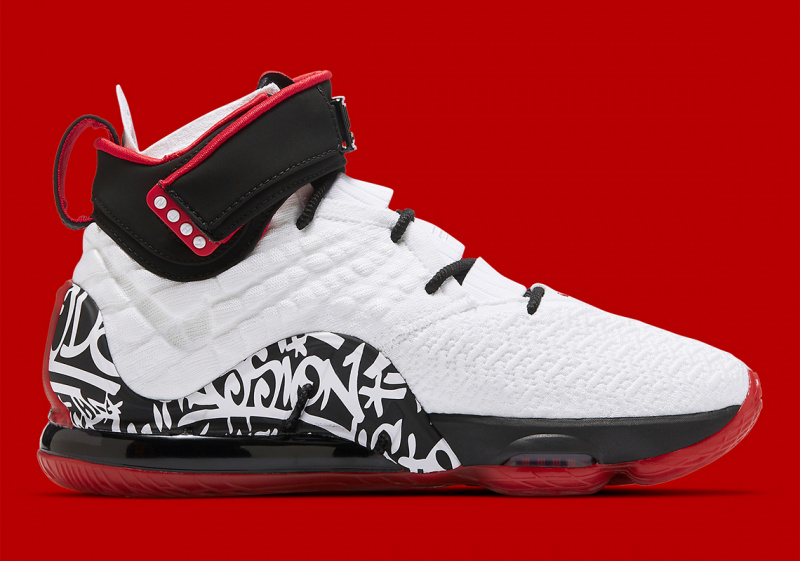 Официальные фото Nike LeBron 17 'Graffiti'
