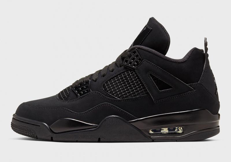 """Официальные фотографии Air Jordan 4 """"Black Cat"""""""